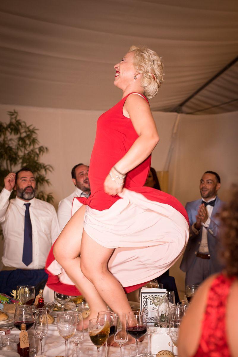 bailando en una boda