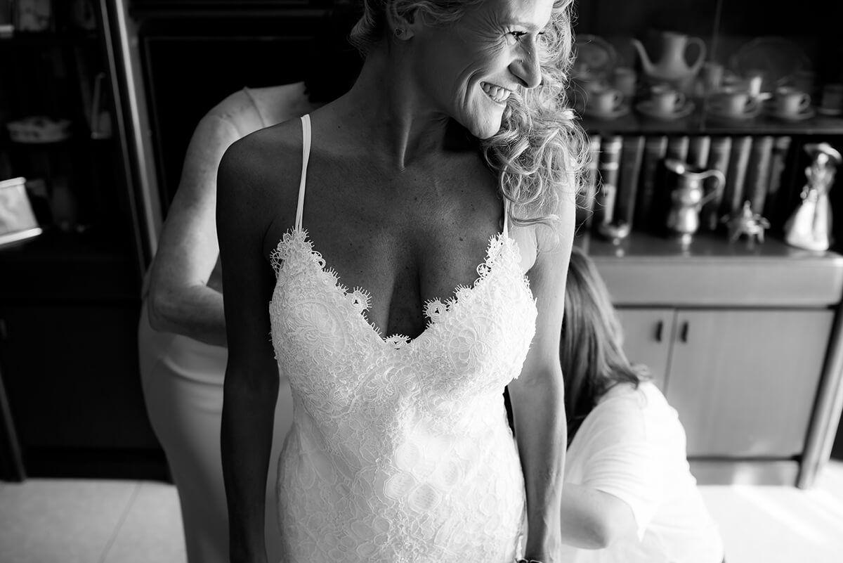 boda en blanco y negro