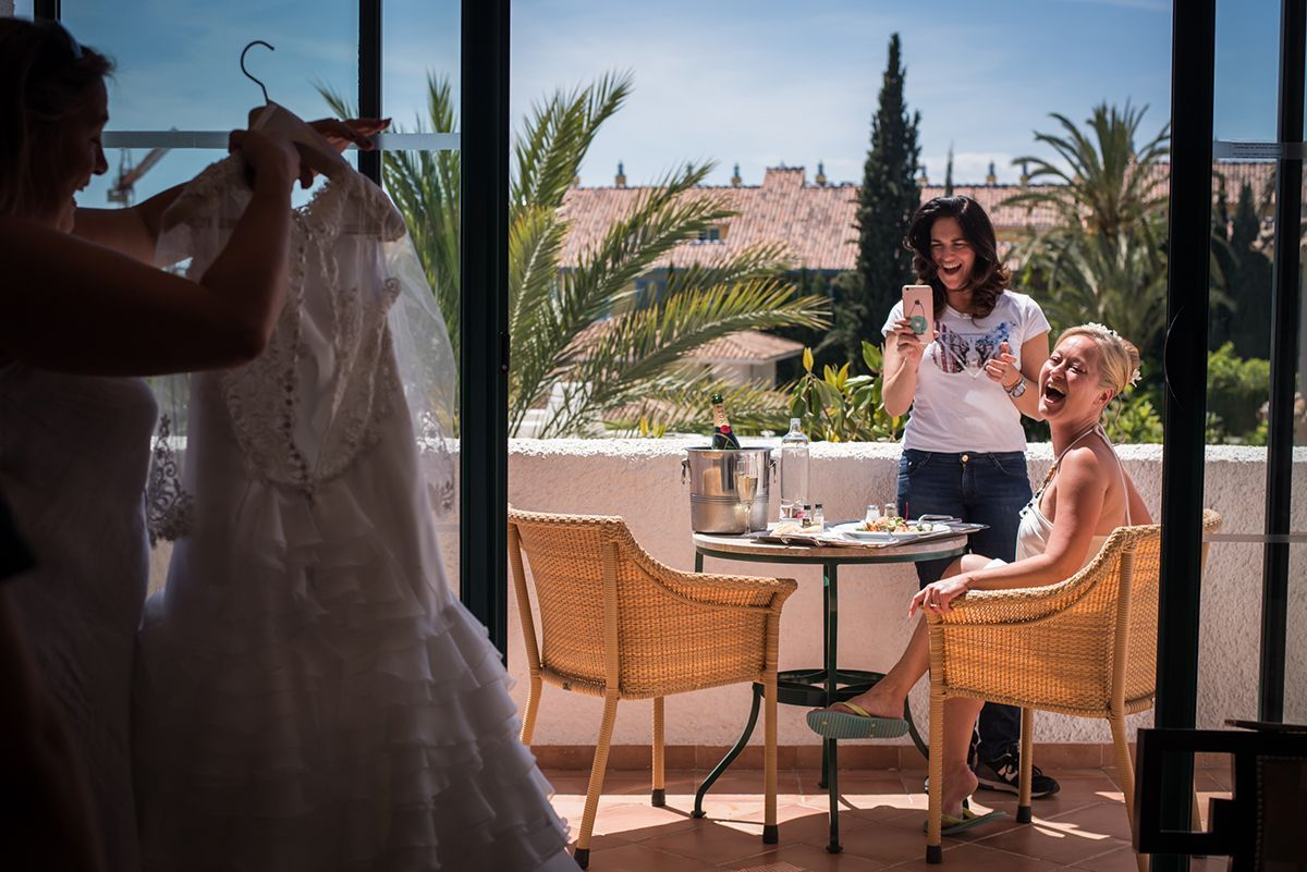 boda en los monteros de marbella