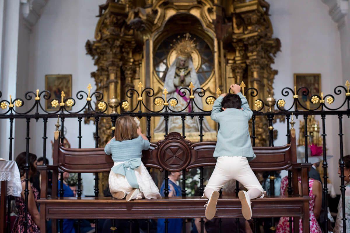 bodas con niños pequeños