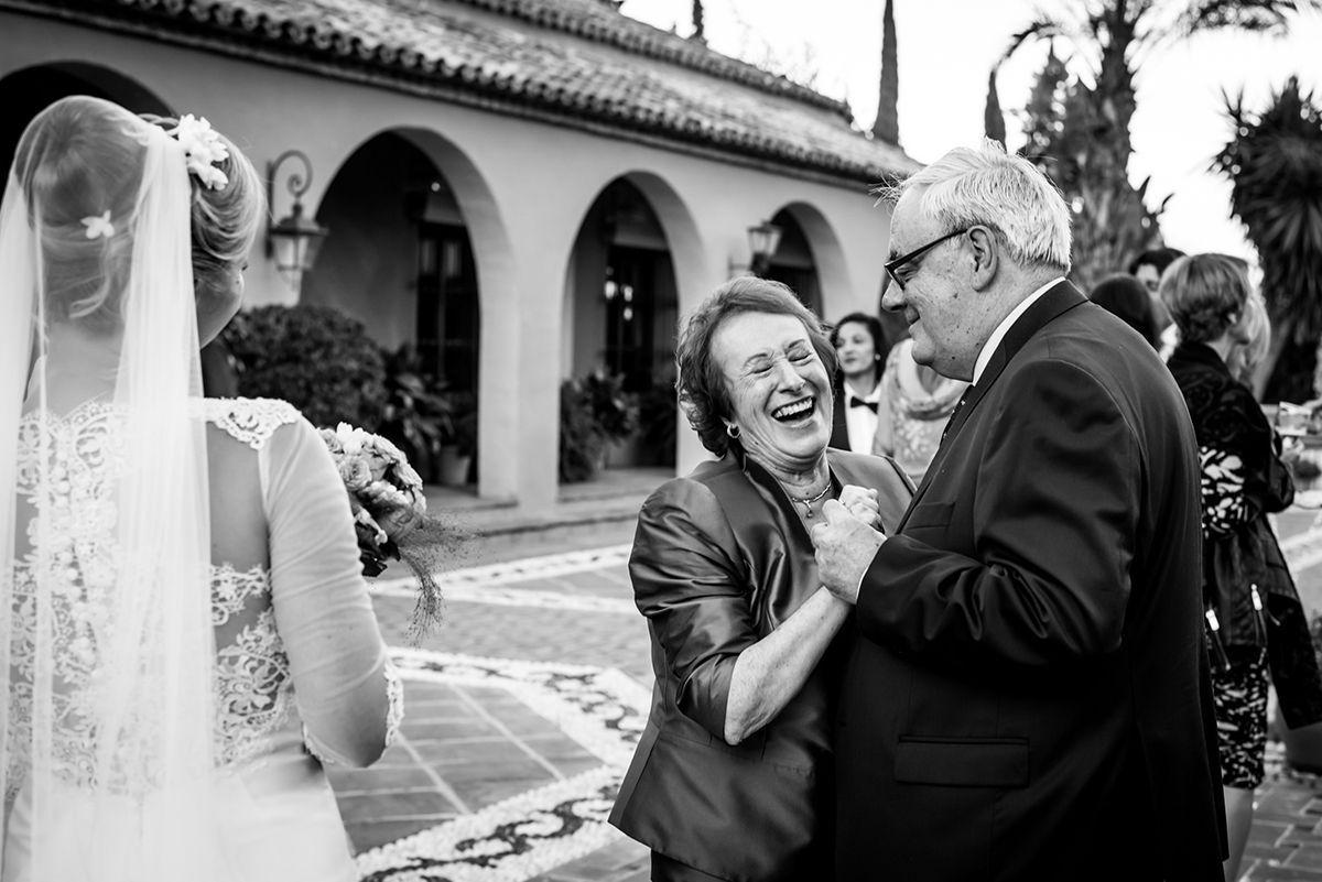 celebración de boda en cortijo el paraíso de marbella