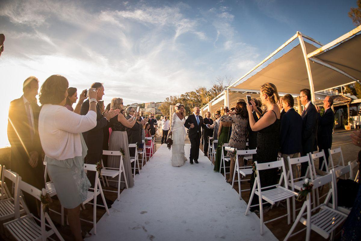 ceremonia civil en los baños del carmen