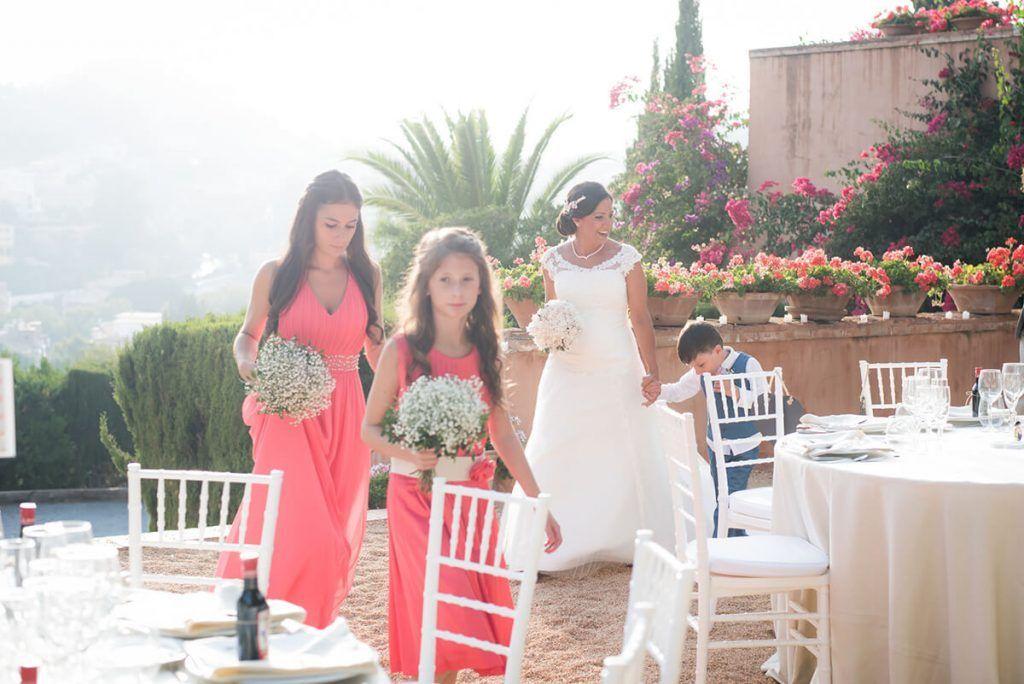 foto de boda en el castillo de santa catalina