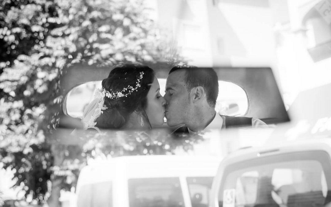 La magia de las fotografías de boda en blanco y negro