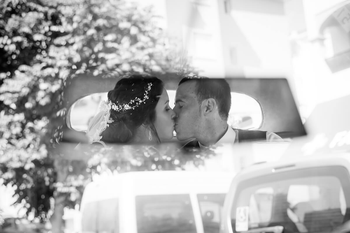 fotografía de boda en blanco y negro