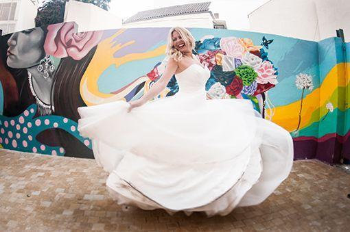 fotografía de novia en Málaga