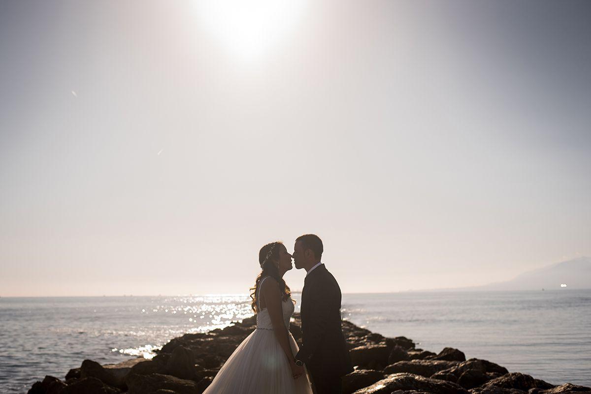 fotografia de boda en espigón