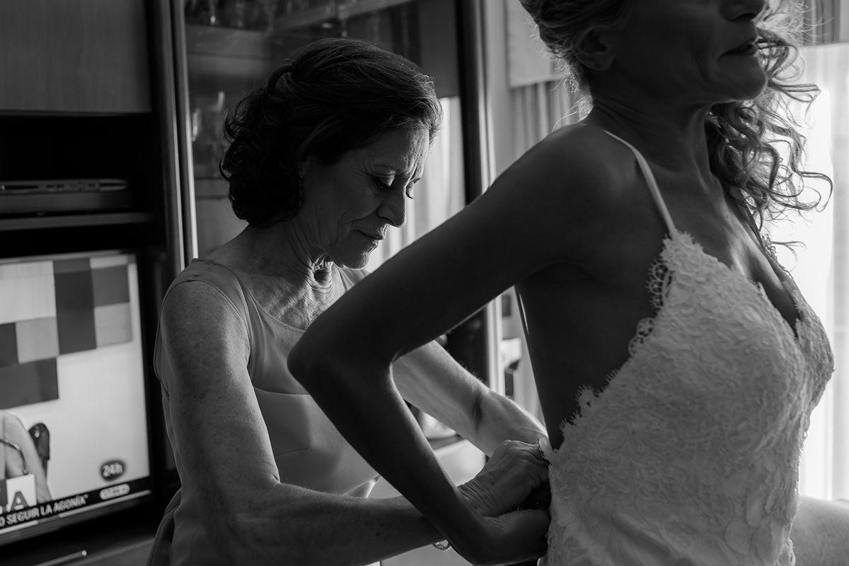 fotografia de boda en los baños del carmen