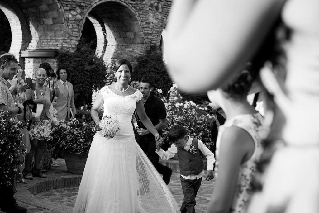 fotografia y video de boda en el castillo de santa catalina