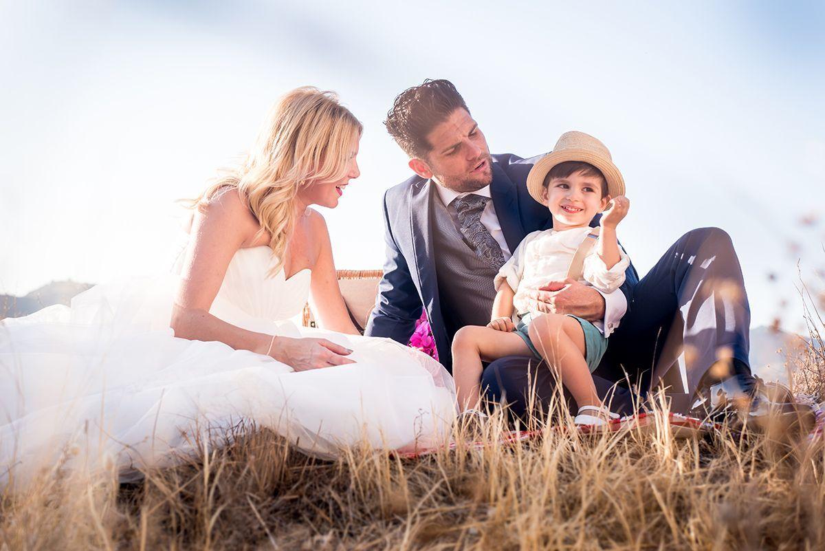 fotos de boda con niños