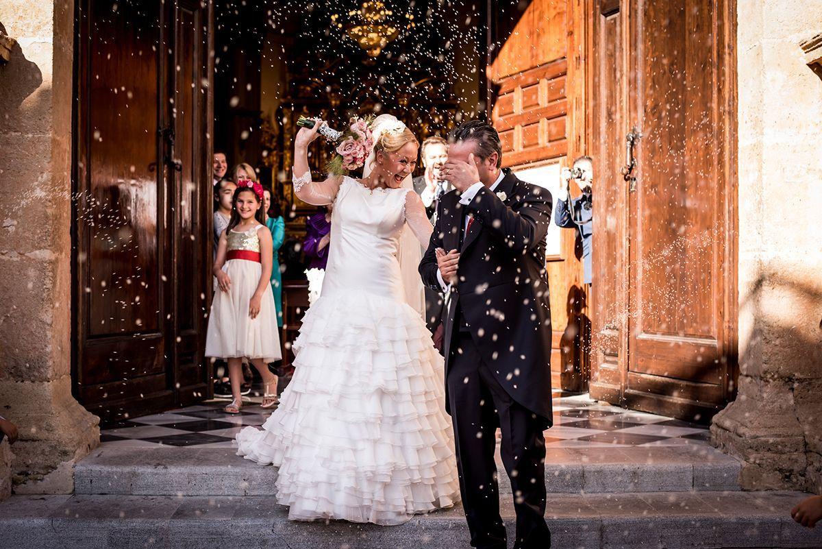 fotos de boda en iglesia de la encarnación