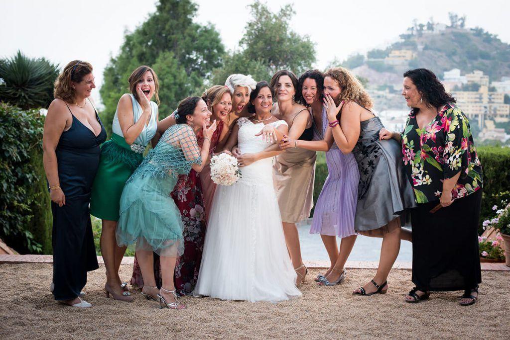 fotos originales de las amigas de la novia