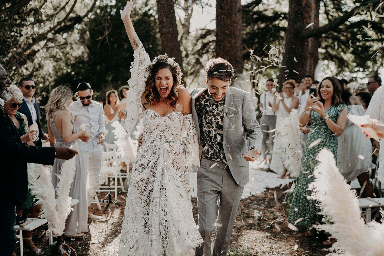 Una boda bohemia