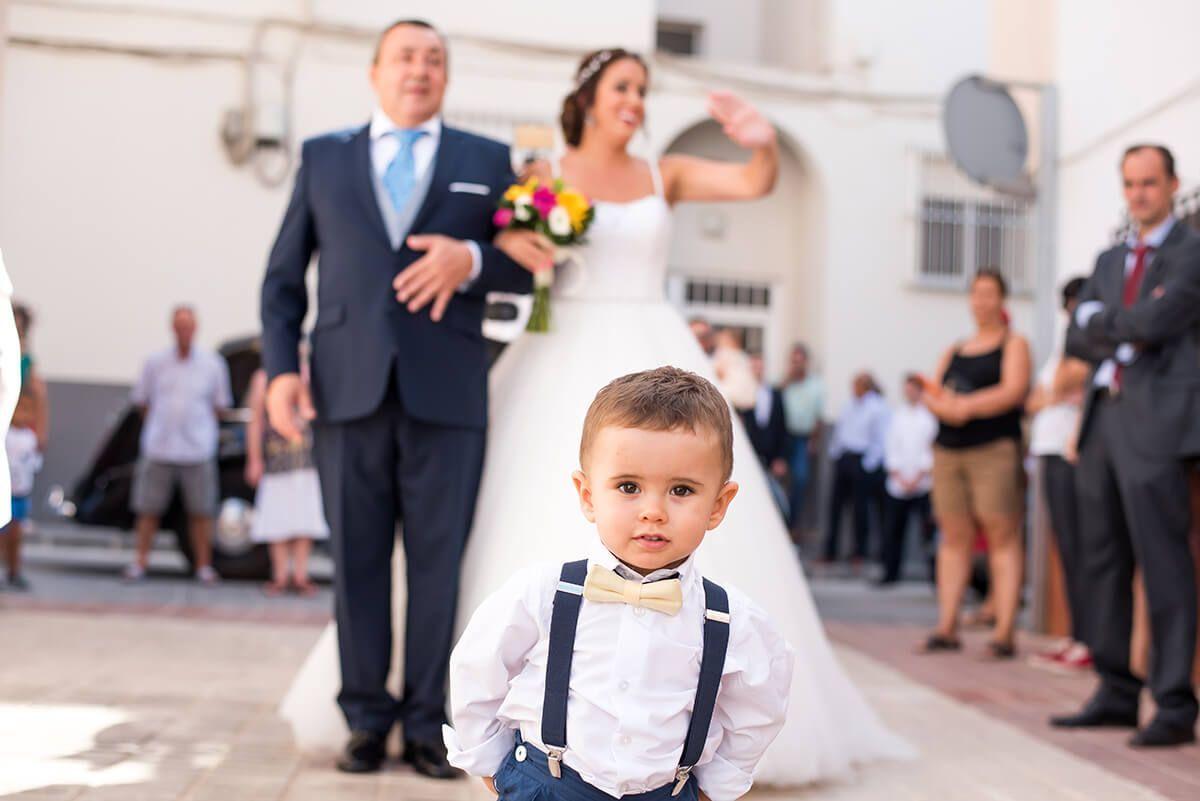 niños pequeños en bodas