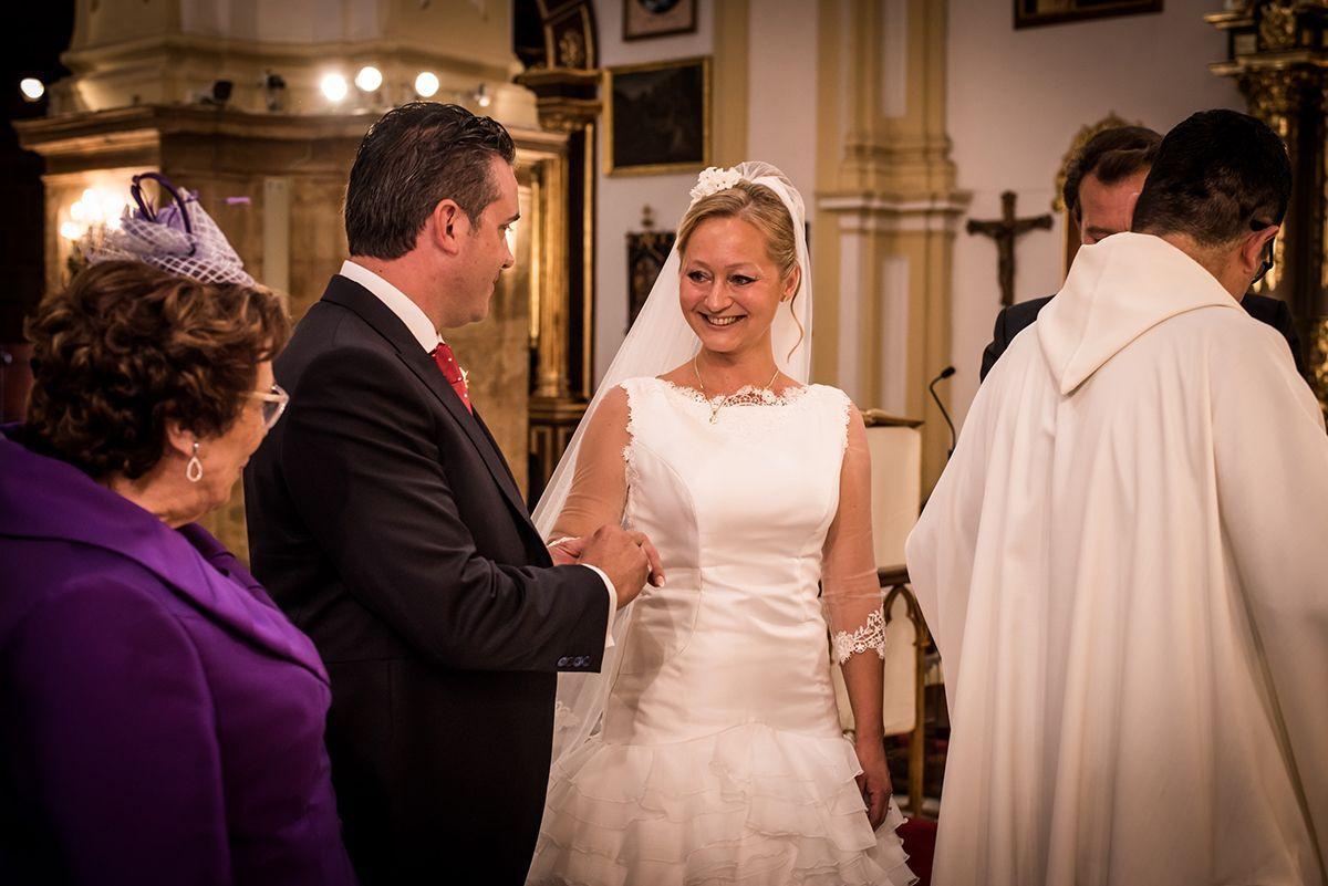 reportaje de boda en iglesia de la encarnación