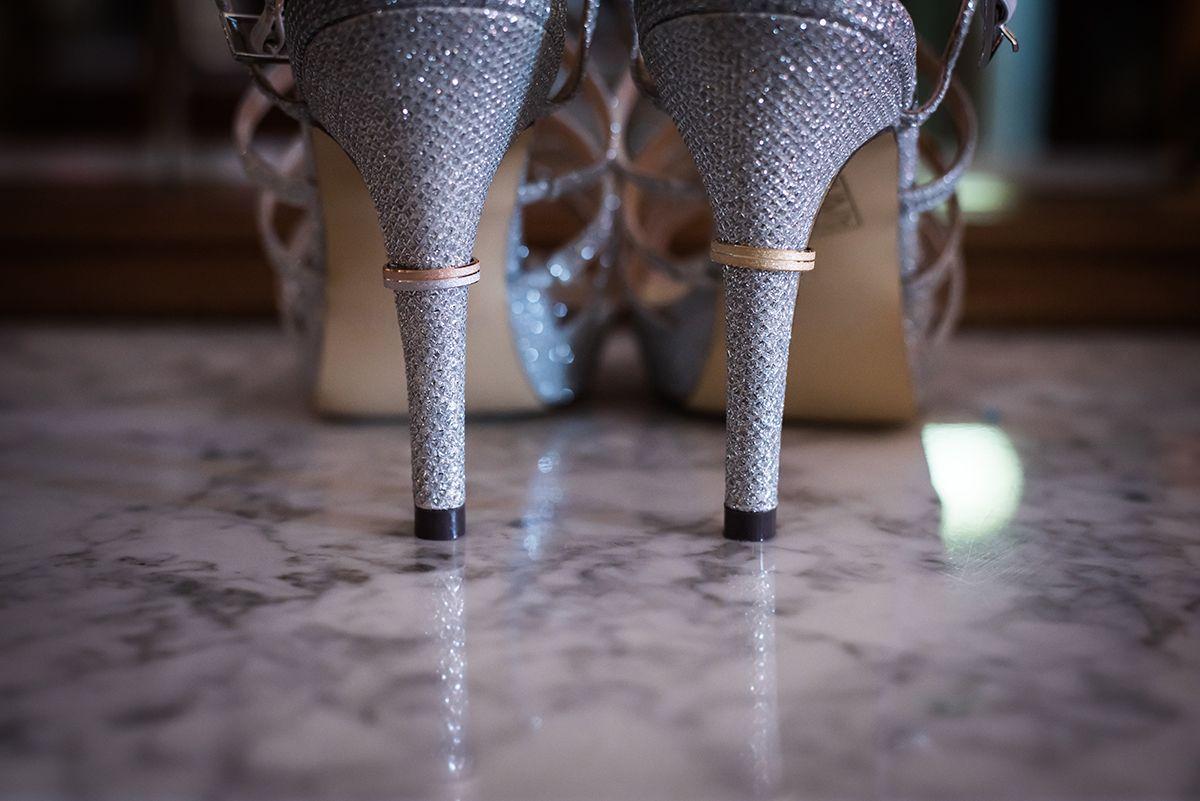 zapatos de novio brillo
